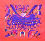 Miao Hmong Hand Stitch Embroidery Textile Folk Art #257