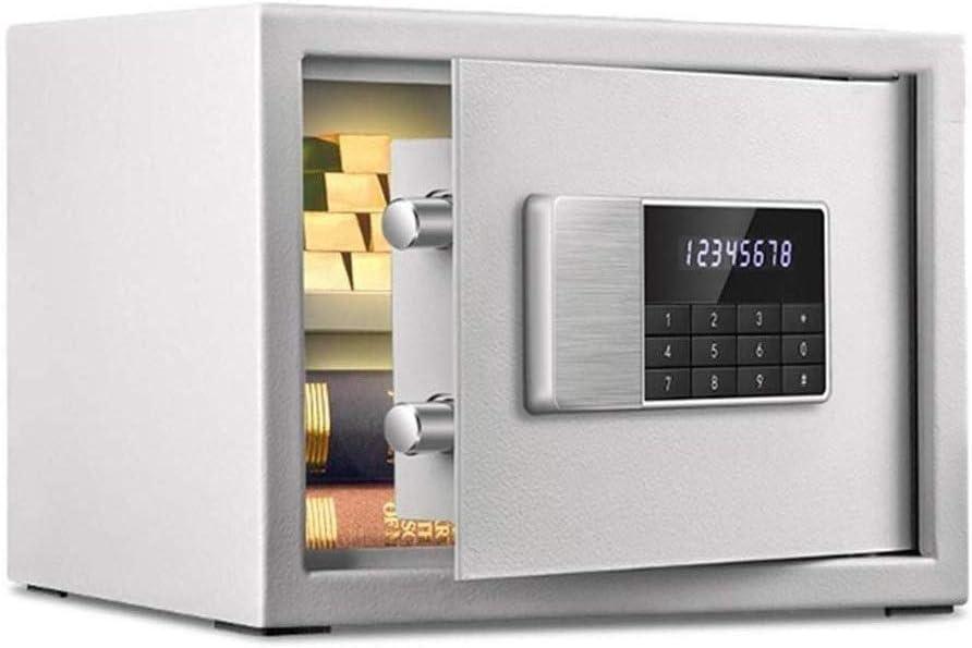 金庫 安全なオフィスホームスモールミニ金庫指紋指紋盗難防止ダブル金庫が保管キャビネットを組み込みウォールベッドサイドローブ隠しに入れることができます (Color : B)