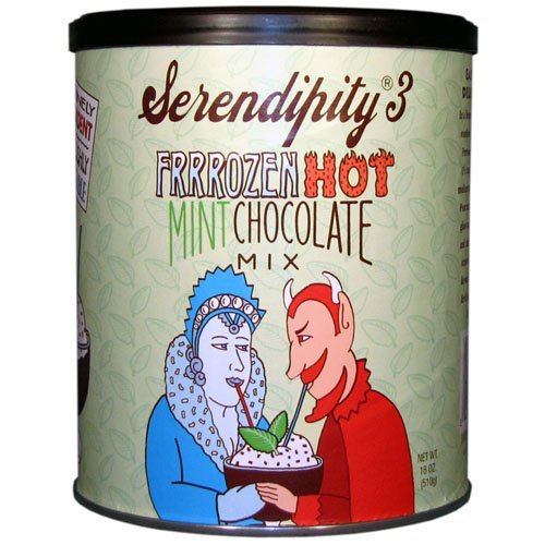 Chocolate Hot 3 Chocolate Serendipity (Serendipity 3 Frrozen Hot Mint Chocolate Mix 18oz Can)