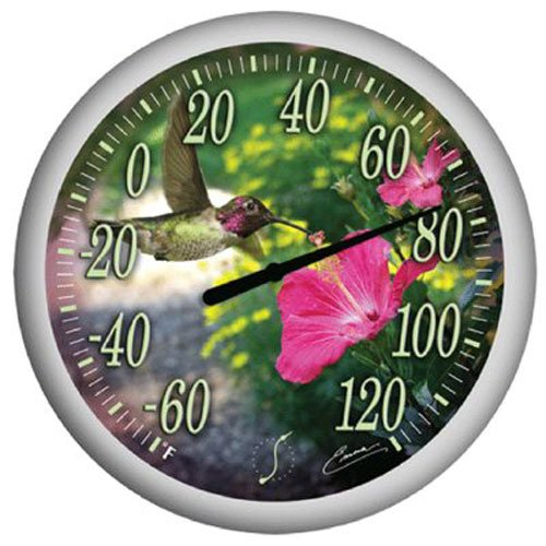 Springfield Precision Hummingbird's Bouquet Thermometer