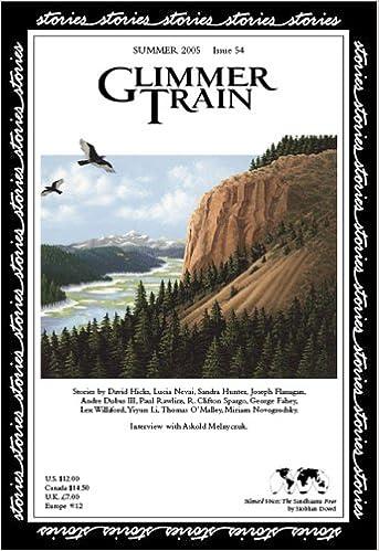 Glimmer Train Stories, #54: David Hicks, Lucia Nevai, Sandra