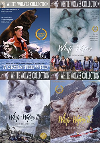 The White Wolves Collection 4-DVD Set (A Cry in the Wild/White Wolves: A Cry in the Wild 2/White Wolves 2: Legend of the Wild/ White Wolves 3: Cry of the White Wolf)
