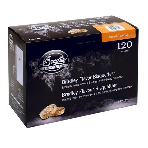 Bradley Smoker Flavor Bisquettes - Box 120 - Mesquite