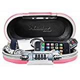 Master Lock Personal Safe, Set Your Own Combination Portable SafeSpace, 9-17/32 in. Wide, Pink, 5900DPNK
