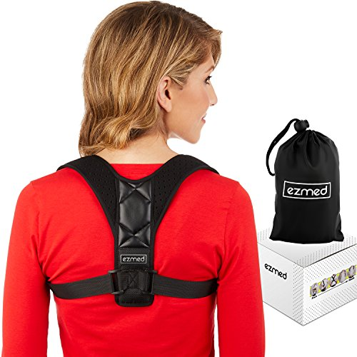 Ultimate Computer (EZmed Ultimate Back Posture Corrector & Carry Bag For Men & Women | Adjustable Posture Brace For Slouching & Hunching | Comfortable And Invisible Under Clothes | Align Your Spine & Relieve Back Pain)