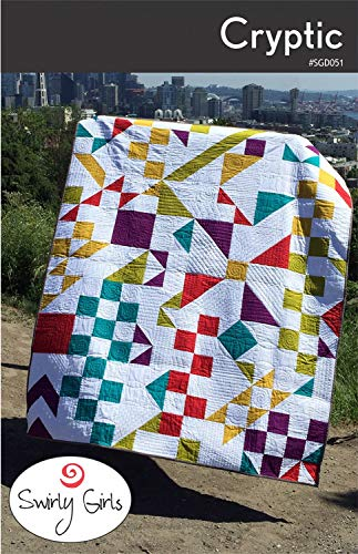 (Swirly Girls Cryptic Quilt Pattern Designs 60