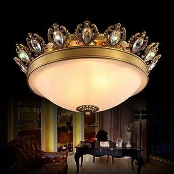 Tydxsd E14 Kupfer Marmor Wohnzimmer Schlafzimmer Deckenlampe Lampe