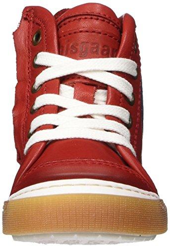 Bisgaard Unisex-Kinder Schnürschuhe Hohe Sneaker Rot (Red)