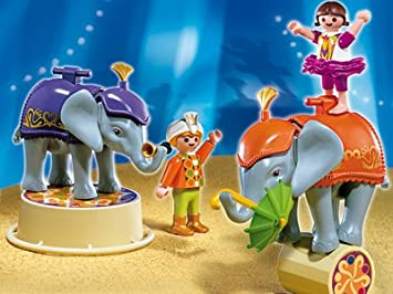 PLAYMOBIL 4235 - Babyelefanten-Show