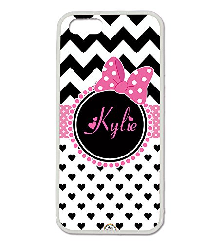 iPhone 5S Case, iPhone 5 Case, ArtsyCase - Pink Polka Dots Heart Shopping Results