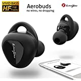 LiteXim Wireless Earbuds Aerobuds, True Wireless Earbuds Bluetooth Earbuds with Mic Noise Cancelling Headphones Charging Case Deep Bass HD 3D Stereo Surround Waterproof Sports Earphones 16H Playtime