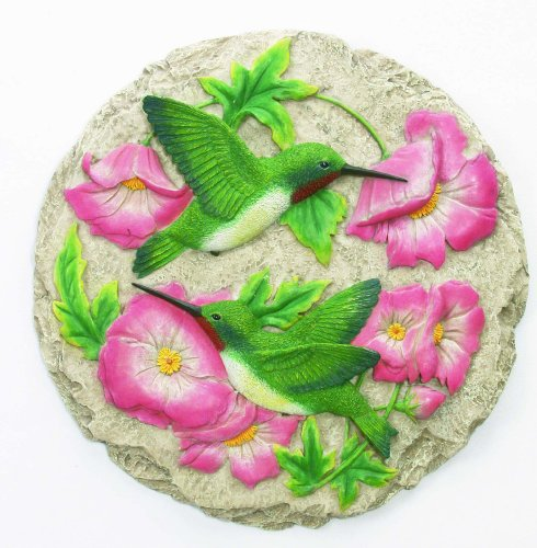 Spoontiques Hummingbird Stepping Stone by Spoontiques, Inc.
