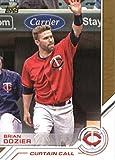 #9: 2017 Topps Salute #S-143 Brian Dozier Minnesota Twins Baseball Card