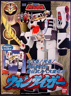 Gosei Sentai Dairanger WON TIGER DX Bandai 1993