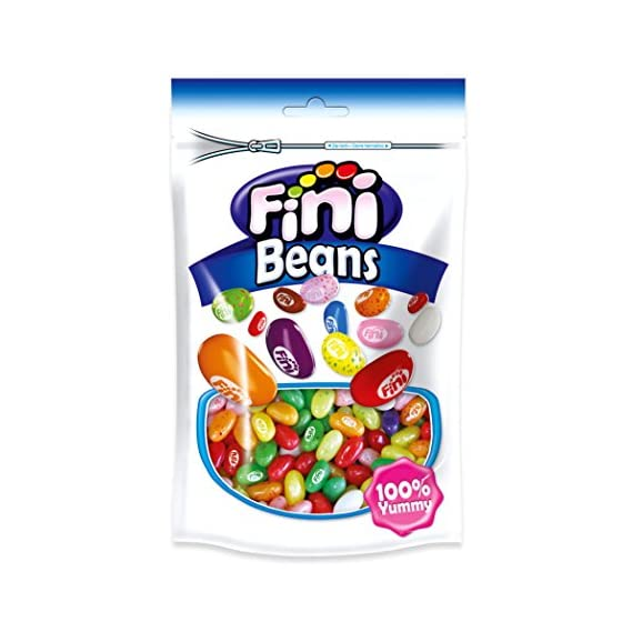 Fini Jelly Beans Doypack Bags, 180g