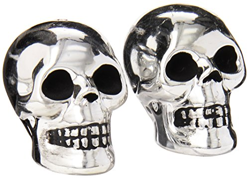 Boston Warehouse The Bone Collector Skull Salt and Pepper -