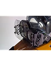 Ro-Moto Clear Headlight Guard GS style compatible for BMW F650GS Twin, F700GS, F800GS, F800GS Adventure