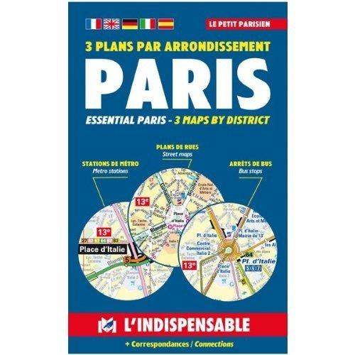 Petit Atlas - Atlas routiers : Le petit parisien