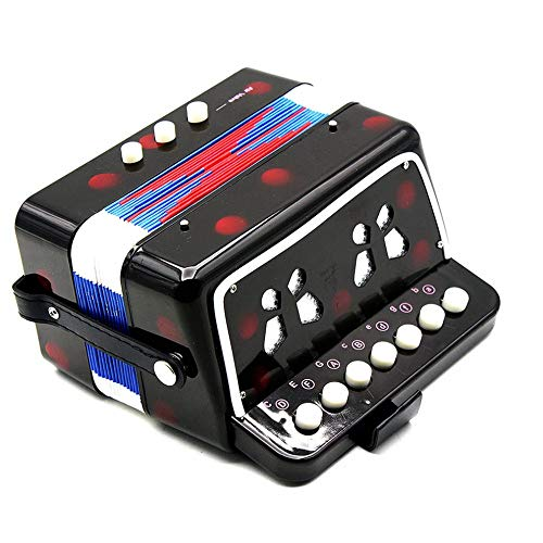 1PC Mini Kids Accordion 7-Key 3 Bass Educational Childrens Beginner Practice Music Instrument Band Toy by Quannaus (Image #6)