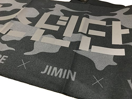 KPOP BTS Bangtan Boys Slogan Cheering Towel With a Pouch - Buy