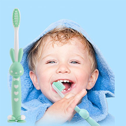 Daystyle Cute Stand-up Children/kid/adult Toothbrush with Sucker (5 Pack Little Bear) by Daystyle (Image #5)