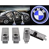 Greenyourlife Car LED Projector Door Lamp Ghost Shadow Welcome Light Laser Emblem Logo Kit for BMW Special Series 3 5 6 7 Z GT with Stylus Dust Plug - 1 Pair
