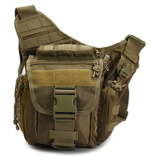 McDonalnd Cool Walker Versipack Multi-functional Tactical Messenger Military Bag Waist Bag (Versipack Khaki)