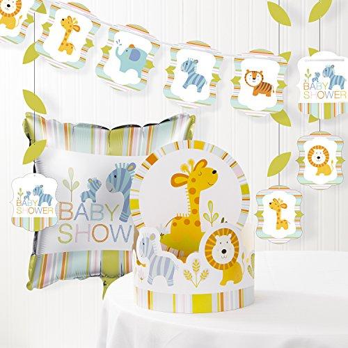 Happi Jungle Baby Shower Decorations Kit