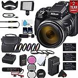 Nikon COOLPIX P1000 16.7 Digital Camera 3.2' LCD (International Model) All You Need Bundle
