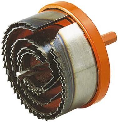 Wolfcraft 8311-20 2220000-1 Circular Profesional, con Broca Central de 6 mm con 5 Hojas de Sierra, Profundidad de Corte 40 mm, 28,35,50,68,75mm
