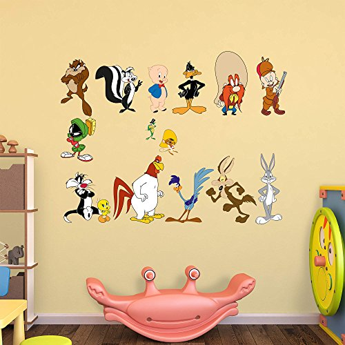 Fathead Peel and Stick Decals WB Looney Tunes RealBig ()