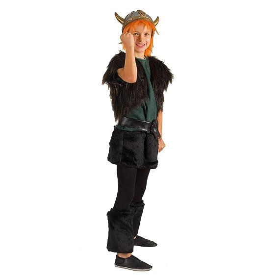Krause & Sohn Traje de niño Viking niña Vestido Legwarmers ...