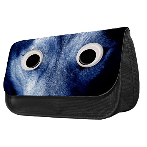 Nightwolf Googley Augen Tier Bleistift Fall/Make-up Tasche 211
