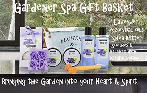 Lavender essential oil aromatherapy spa basket premium gift basket home solutioingenieria Images