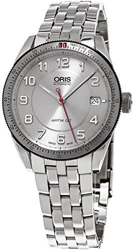 Oris Men's 'Artix GT' Swiss Automatic Stainless Steel Dress Watch, Color:Silver-Toned (Model: 73376714461MB)