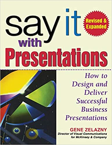say it with presentations how to design and deliver successful