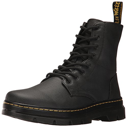 Unisex Black Black Waxy Adults' Boots Coated Combs Dr Martens Black Ogq7FwO5x