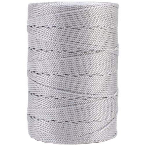 Iris 18-476 Nylon Crochet Thread, 197-Yard, Gray ()