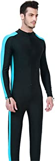 Fortuning's JDS® UPF 50+ Vestito Lungo Costumi da Bagno Manica Corpo Pieno Nuoto Immersioni Uomo