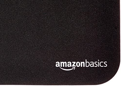 AmazonBasics Gaming Computer Mouse Pad – Black 51J7bCqtSfL