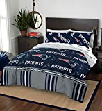 The Northwest Company NFL New England Patriots Queen Bed in a Bag Complete Bedding Set #371573913