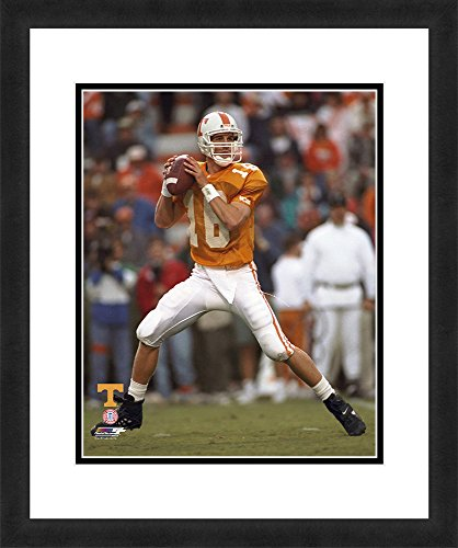"NCAA Tennessee Volunteers Peyton Manning, Beautifully Framed and Double Matted, 18"" x 22"" Sports Photograph by Photo File"
