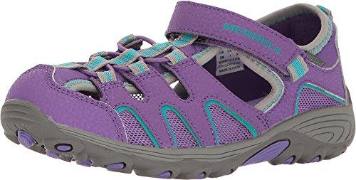 Merrell Girls' Hydro H2O Hiker Sandal Sport, Purple 9 Medium...