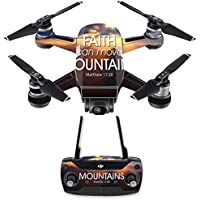 Skin for DJI Spark Mini Drone Combo - Move Mountains| MightySkins Protective, Durable, and Unique Vinyl Decal wrap cover | Easy To Apply, Remove, and Change Styles | Made in the USA