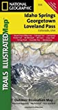 Idaho Springs, Loveland Pass (National Geographic Trails Illustrated Map)
