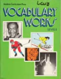Vocabulary Works, Joy Tweedt, 0813616425