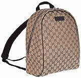Gucci GG Guccissima Backpack Rucksack Travel Bag (Beige/Brown)