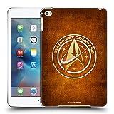 Official Star Trek Discovery Starfleet Distressed Badges Hard Back Case for Apple iPad mini 4