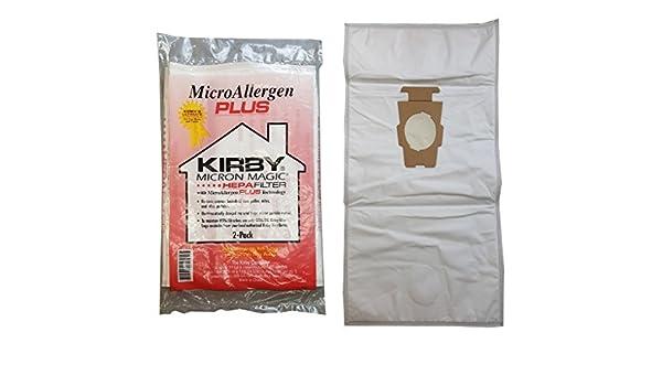 Kirby Micron Magic Micro Plus alérgenos HEPA Filtro de vacío ...