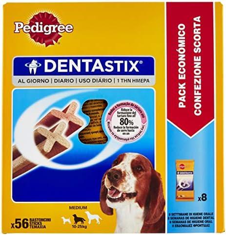 PEDIGREE DentaStix Daily Oral Care Kit de Soin des Dents pour Chiens – Friandises pour Chien au goût Poulet et bœuf pour Tous Les Jours, différentes Tailles